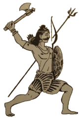 Virabhadra the Warrior